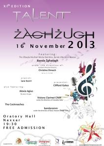 Tazlent Zaghzugh 2013