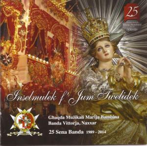 Il-Faċċata tal-album Inselmulek f'Jum Twelidek